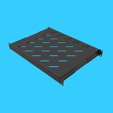 1U стойка слой доска лоток рамка тип лоток многофункциональная стойка фиксированная пластина динамик усилители стойка лоток