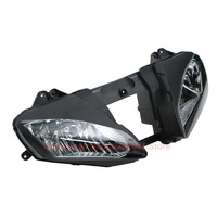 Clear Lens Motorcycle Plastic Front Light Lamp Case For Yamaha YZF R6 2006 2007 Headlight Housing Set