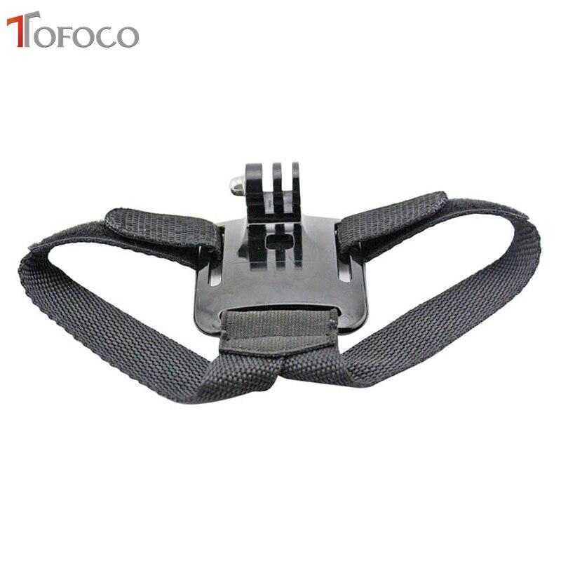 TOFOCO For Gopro Helmet Head Strap Cinturón Cámara Cámara Fija - Cámara y foto - foto 2