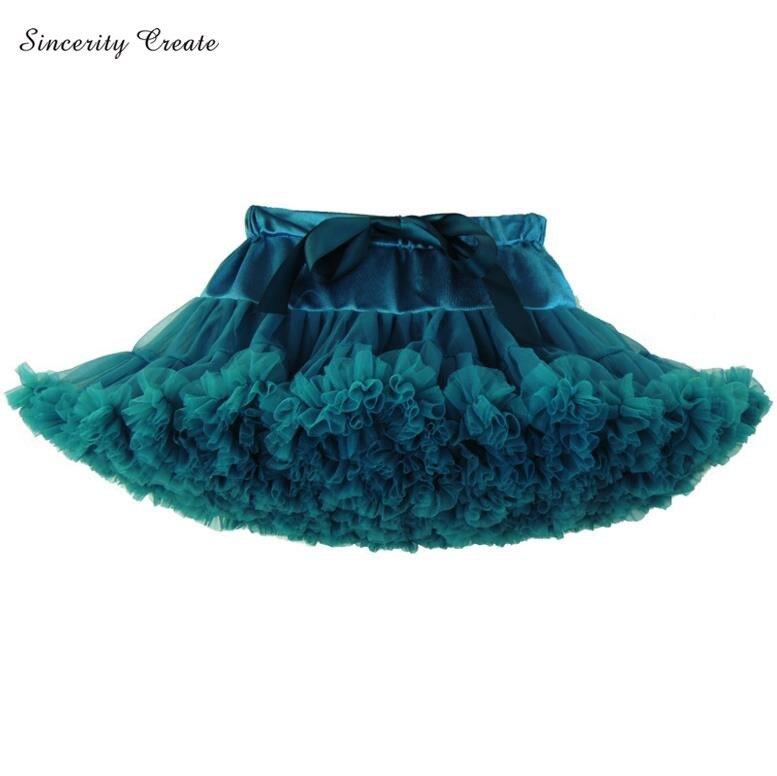 Children Girls Tutu Skirt Gauze Fluffy Girl Princess Dance Skirts Party Tulle Pettiskirt American Kids Tulle Petticoat AS-1501-2