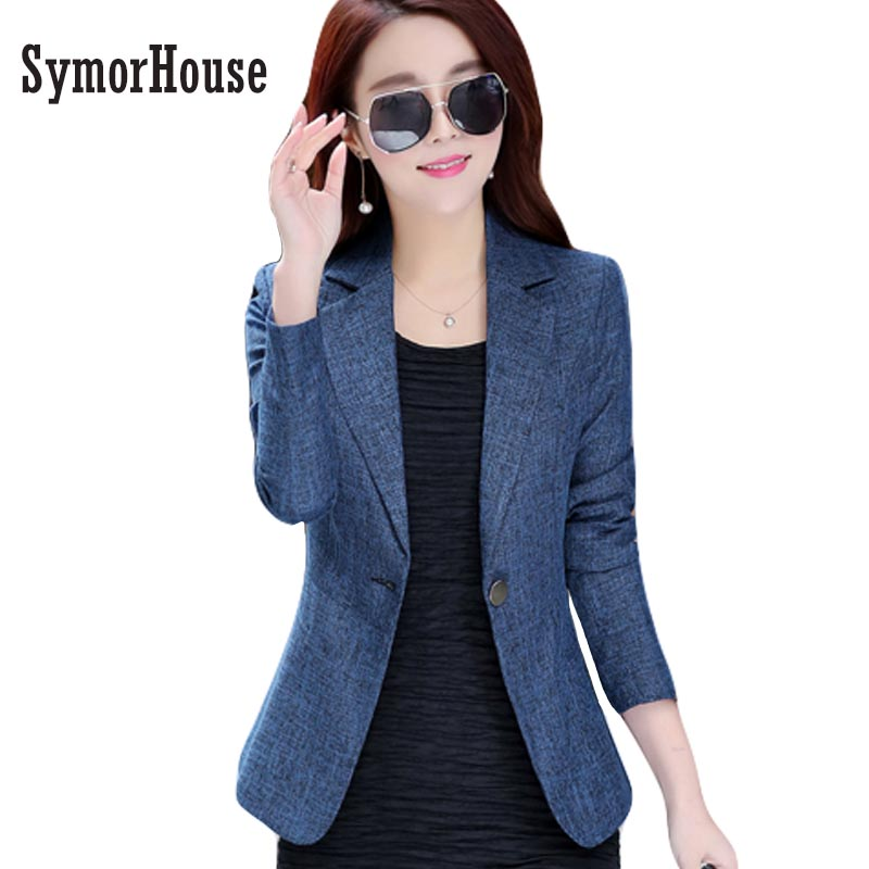 Women Blazers and Jackets Suit Ladies Long Sleeve Work Wear OL Blazer Plus Size Casual Female Outerwear Wear to Work Coat Women