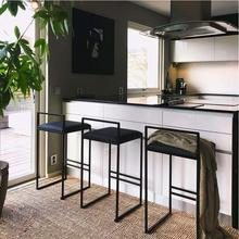 Скандинавский барный стул, современный минималистичный барный стул, модный парадный стол, стул, индивидуальная индивидуальность, барный стул, креативный высокий стул