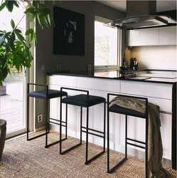 Скандинавский барный стул современный минималистичный барный стул модный передний стол стул индивидуальность барный стул креативный