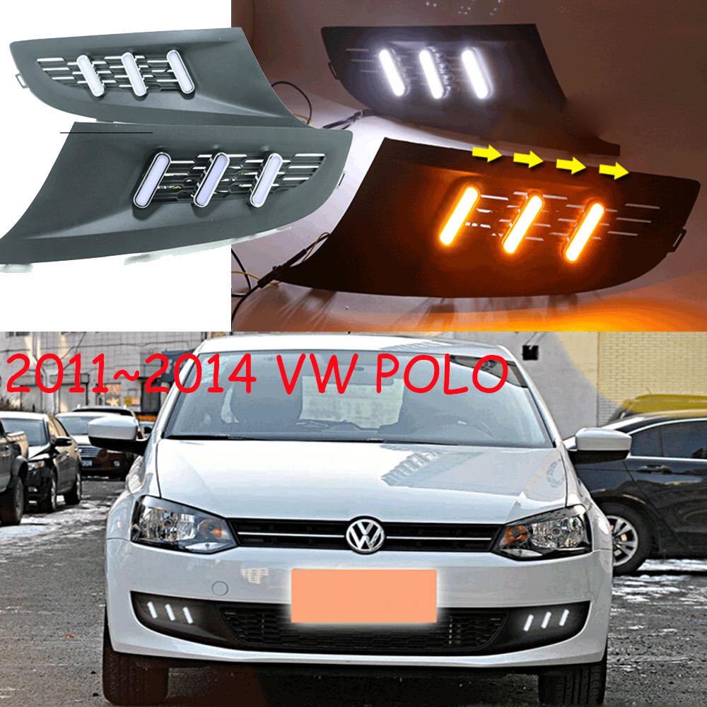 POLO daytime light;2011~2013 Free ship!LED,POLO fog light,Touareg,sharan,Golf7,routan,saveiro,polo,passat,magotan,jetta;POLO tiguan taillight 2017 2018year led free ship ouareg sharan golf7 routan saveiro polo passat magotan jetta vento tiguan rear lamp
