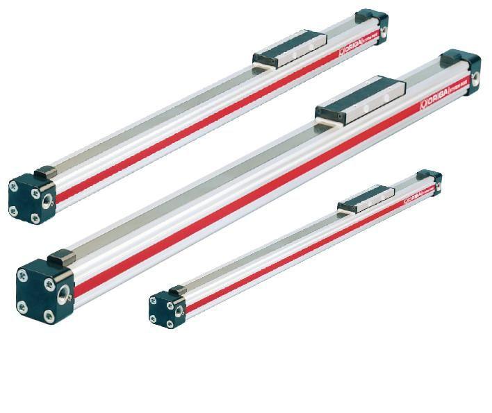 PARKER ORIGA Pneumatic Rodless Cylinders osp-p25-285 osp-p25-00000-00285 bore 25mm stroke 285mm total length 485mm цена