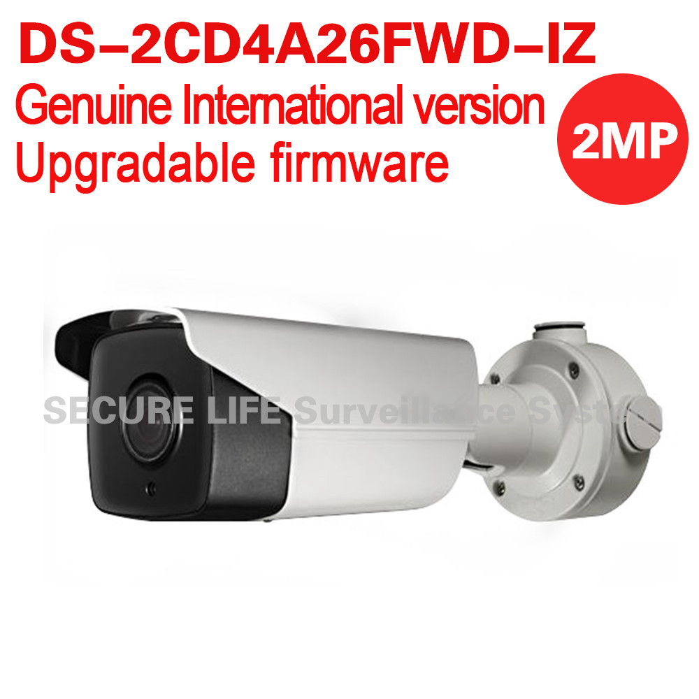 DS-2CD4A26FWD-IZ English version 2MP Low Light Smart bullet cctv Camera POE LPR 50m IR, mortorized VF lens ,no audio, no heater ds 2cd4a26fwd izh english version 2mp low light smart bullet ip cctv camera poe lpr 50m ir mortorized vf lens heater no audio
