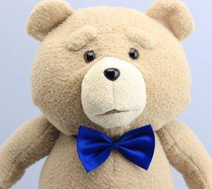 """Image 5 - 18 """"45CM Teddy Bear TED peluş oyuncaklar mavi kravat korsan oyuncak yumuşak dolması bebekler oyuncak çocuk hediyeler"""