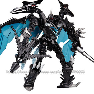 Image 5 - weijiang Oversize 21 27CM Anime Transformation Dinosaur Kids Toys Dragon Robot  Alloy Action Figures Brinquedos Classic Toys Boy