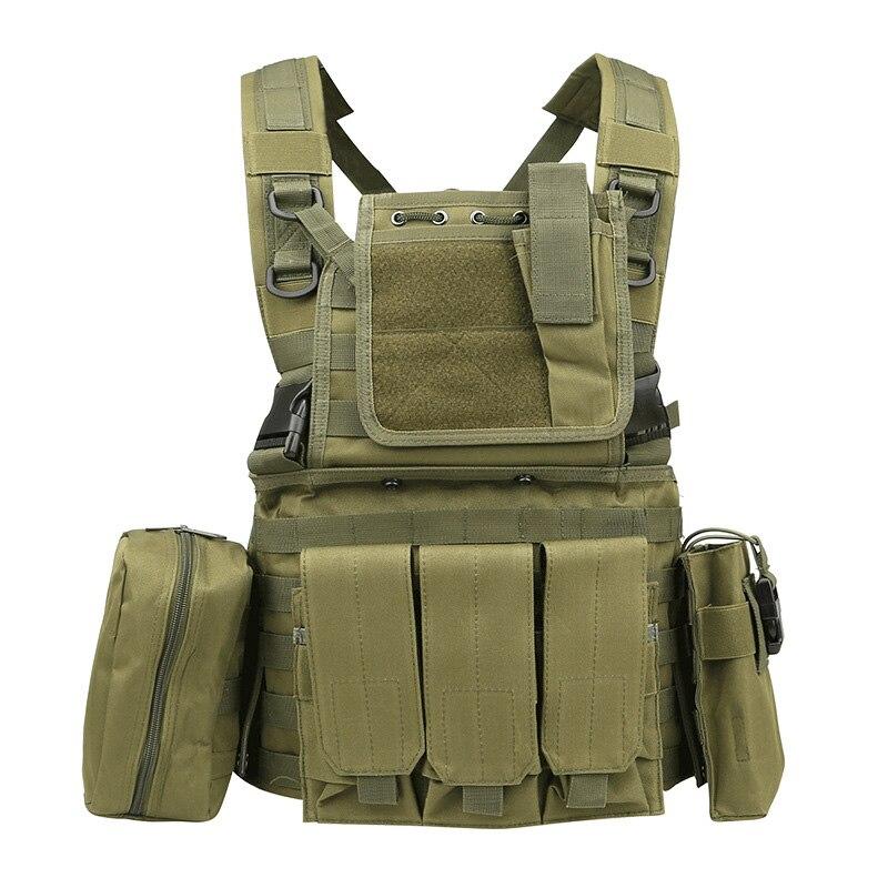 RRV Tactical Vest, Molly Vest, 600D Нейлон, Airsoft Tactial - Спорттық киім мен керек-жарақтар - фото 6