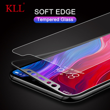 где купить Soft Edge Full Cover Tempered Glass for Xiaomi 8 Youth 8 SE Mi A2 Lite Mix 2 3 Redmi Note 5 Pro Screen Protector Carbon Fiber по лучшей цене