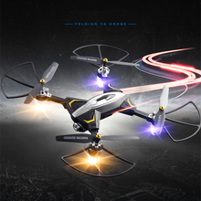 Foldable RC Quadcopter Drone WIFI FPV With Wide Angle HD Camera High Hold Mode Long battery life Gesture control 720p Quadcopter
