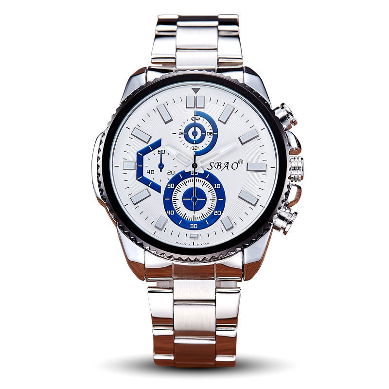 BOUNABAY WATCH Luxury Men Quartz Business Wristwatch Mens Fashion Automatic Datajust Waterproof Watch Military Clock Top