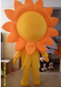 Image 3 - Sunflower Mascot Costume Adult Size Fancy Dress Mascot Costume Fancy Dress Christmas Cosplay for Halloween party event