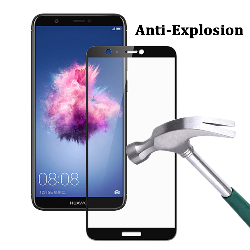 Image 3 - Tempered Glass On For Huawei P Smart Plus 2019 Screen Protector Psmart Smartplus Armor Huwei Huaweii Protective Full Cover Film-in Phone Screen Protectors from Cellphones & Telecommunications