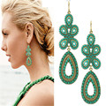 Nuevo diseño de la joyería marca moda elegante pendientes Bohemia mujeres para mujeres fábrica venta al por mayor