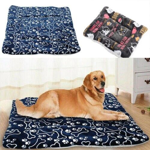 1 Pcs Soft Hond Kat Pet Winter Warm Matten Bont Bed Pad Zelf Warmte Tapijt Thermische Wasbaar Kussen Mat Hoes