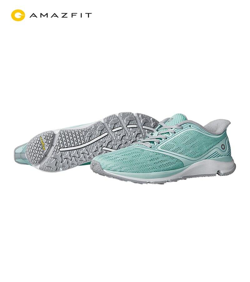 Xiaomi Mijia Amazfit antilope en plein air Sport chaussures de course ERC matériel en caoutchouc Support Smart Chip Sneaker pour les femmes