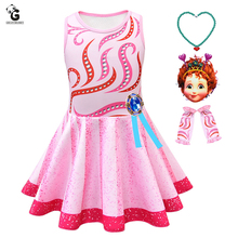 Kids Fancy Dress Nancy Costume Girl Dresses Birthday Party  Halloween for Princess Cosplay
