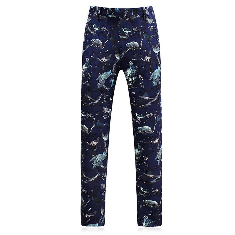 Qualité Blazers Casual Costume Laine Robe Bleu Slim Hommes Haute De Mariage veste Gilet D'affaires Costumes 2017 Royal Pantalon q0wZ1Iv