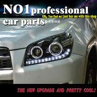 OUMIAO Car Styling For Toyota RAV4 headlights 2009 2010 2011 2013 For RAV4 LED light Q5 bi xenon lens h7 xenon light