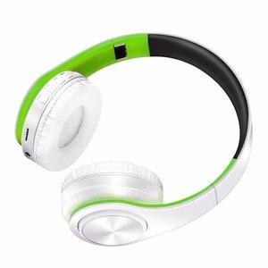 Image 2 - Nuovo auricolare stereo bluetooth auricolare cuffia wireless mani libere bluetooth universale per tutto il telefono per il iphone con il microfono