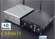 Bluetooth 4.0 2X50W Digital Amplifier HIFI Stereo TPA3116 CSR8635 No Including Power Supply DC12-25V Black / Gray Free Shipping