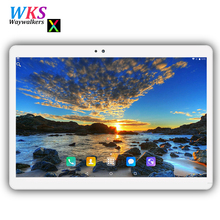 Tempered 2.5D Glass 10 inch tablet android 7.0 octa Core 4GB RAM 64GB ROM 1280x800 IPS Dual SIM Card FM GPS tablets pcs 10 10.1