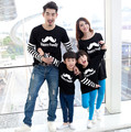 Happy Family Long Sleeve Clothes for father and son Clothes for Mother and Daughter Spring & Autumn T-shirt Clothes, BER28