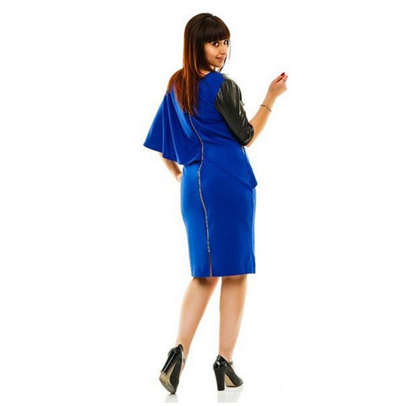 2018 New Designer Women Dress Plus rozmiar 6XL Jesień Vestidos Maxi - Ubrania Damskie - Zdjęcie 2