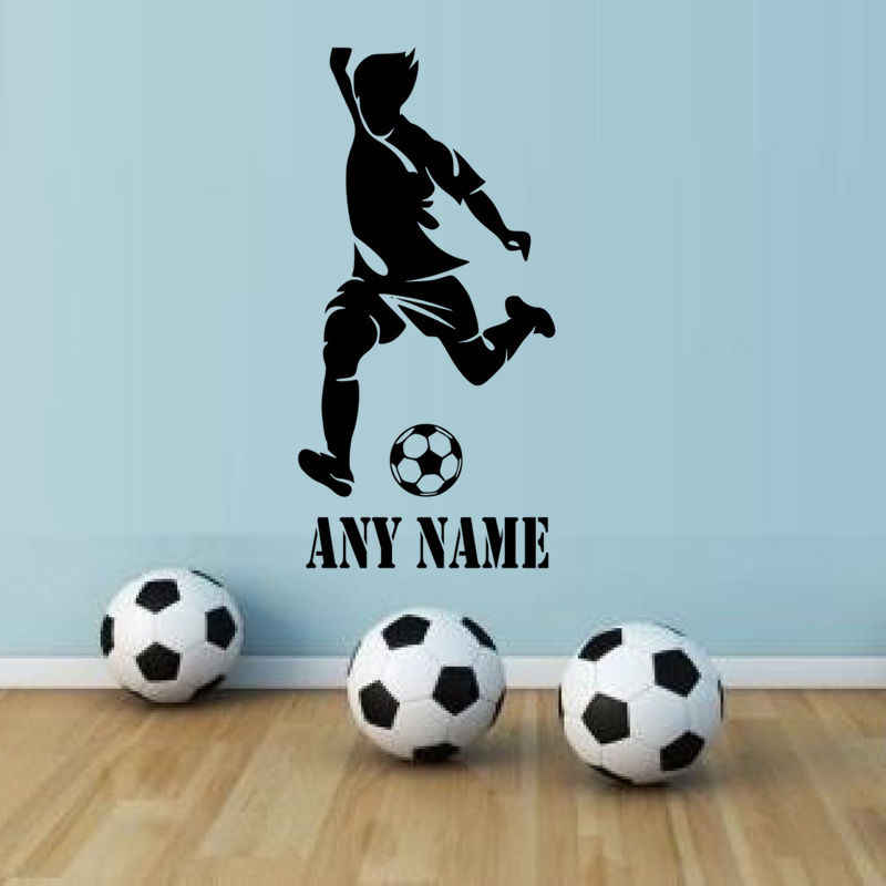 Wall Art Stickers Football Player