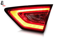 Accessories LED Rear Lights For Ford Mondeo Fusion 2014 2015 Dedicated Tail Lamp