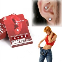 New Magnetic Slimming makeup tool Stud Earrings Patch Lose Weight Health Lazy Paste Slim