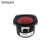 TONLEN 2PCS 3 Inch Full Range Speaker 4 Ohm 20 W Music Desktop Speakers Car HIFI
