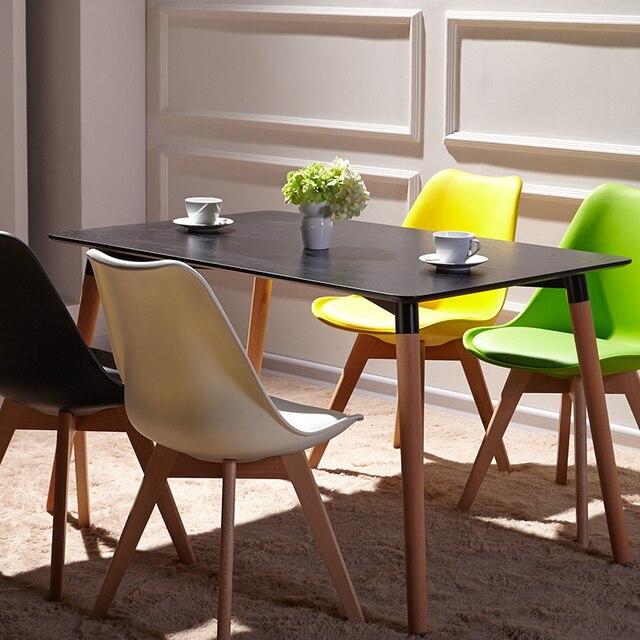 US $665.0  Mobili, il nordic moderno e contratti tavolo in legno massello,  cafe scrivania, semplice e facile da scrivania in Mobili, il nordic moderno  ...