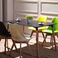 Muebles, la nórdicos contemporáneos y contratados mesa de madera maciza, Cafe escritorio, simple y fácil de escritorio