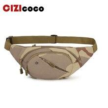 цена на High Quality Canvas Men Waist Pack Casual Bum Hip Bag Belt Phone Bag Case Fanny Pack For Women Men Travel Waist Bag