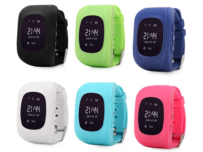 Q50 GPS Tracker Watch For Kids SOS Emergency Anti Lost ...