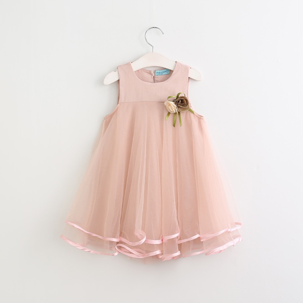 Sotida-Girls-Dresses-2017-Sweet-Princess-Dress-Baby-Kids-Girls-Clothing-Wedding-Party-Dresses-Children-Clothing-Pink-Applique-1