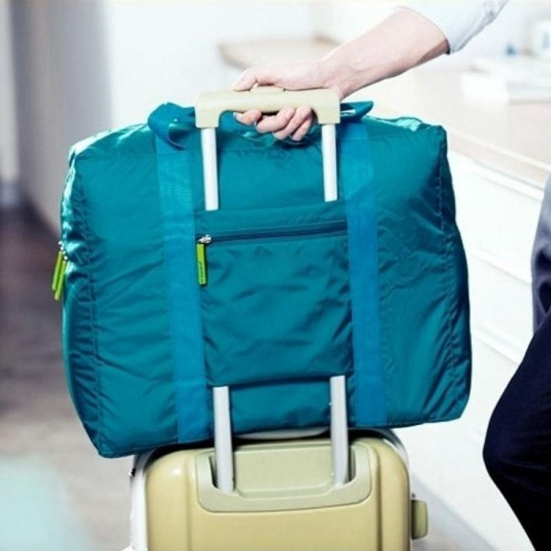 Fashion Travel Pouch WaterProof Unisex Travel Handbags Women Men Luggage Travel Folding Bags 4 Colours Wholesales
