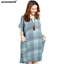 4a247adf6a8 WEONEWORLD 2018 Summer New Loose Maternity Dress for Pregnant Women Ladies  Pregnancy Fashion Clothing Plus Size
