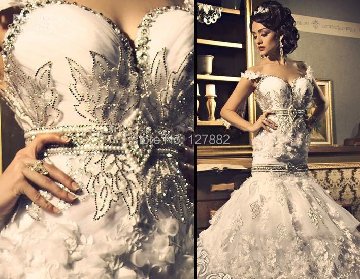 Sexy Wedding Dress Bling