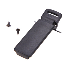 10 pc / lot Belt Clip Untuk Walkie Talkie Retevis Baofeng UV5R / 5RA / 5R + / 5RB / 5RC 2-way Radio UV 5cb Radio Aksesoris