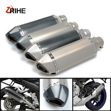 Universal 36-58 Motorcycle Exhaust Pipe Modified Muffler PipeFor Ducati  monster m620 m750/m750ie st4 st4s ABS