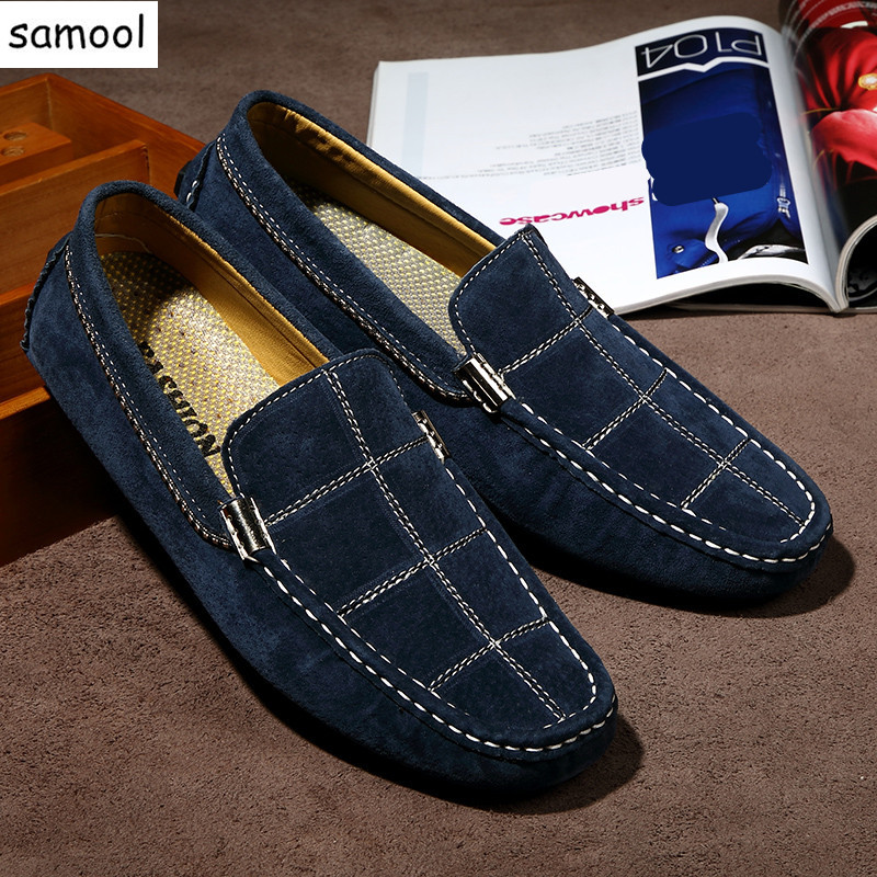 lazy Brand Fashion Summer Style Soft Moccasins Men Loafers High Quality Genuine Leather Shoes Men Flats Gommino Driving Shoes 7 2017 new brand breathable men s casual car driving shoes men loafers high quality genuine leather shoes soft moccasins flats