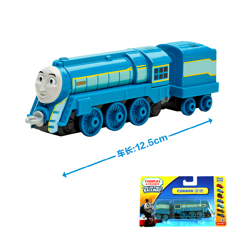 x7 NEW Arrival Diecast 1:64 Metal thomas and friends CONNOR Tank Engine take Along Train toy with hook for children toy gift