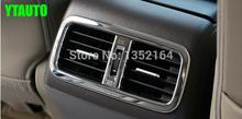 Auto inerior accessories,rear air vent intake trim sticker for Honda CR-V 2015, car styling