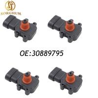 4PCS 30889795 MAP Intake Manifold Pressure Sensor For Renault Opel Mitsubishi Volvo