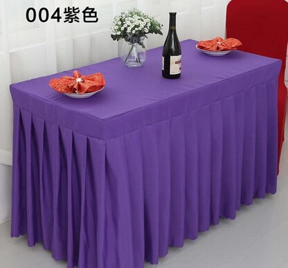 Free Shipping Many Size Colors Tablecloth Skirt Custom Sign Desk Sets The  Table Skirt Tables Cover Sets In Tablecloths From Home U0026 Garden On  Aliexpress.com ...