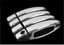 Car Styling ABS trim Chromium door handle cover sticker font b Exterior b font decoration products