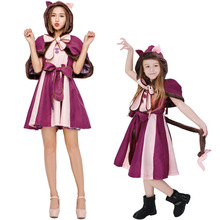 Umorden Lovely Cat Costume Cosplay for Girl Child Adult Girls Women Costumes Halloween Carnival Dress